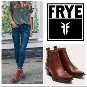 Frye Sacha Ankle Boots
